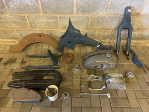 c.1956 NSU 125 OSB Superfox Parts