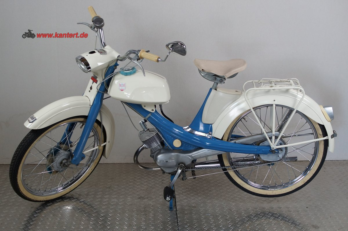 1966 NSU Quickly S 23, 49 cc, 2 hp For Sale (picture 1 of 6)