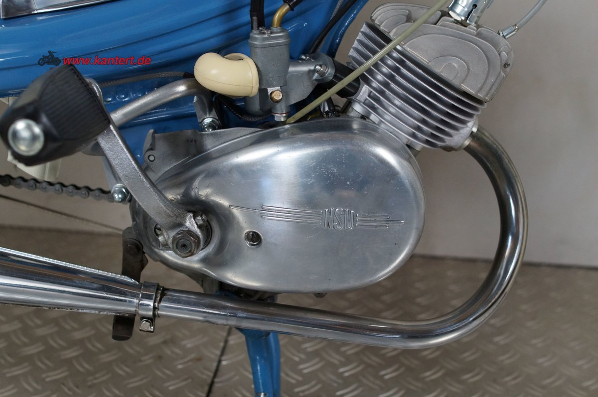 1966 NSU Quickly S 23, 49 cc, 2 hp For Sale (picture 6 of 6)