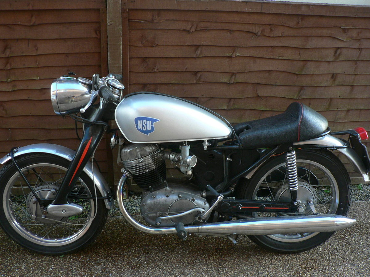 1955 NSU Max Special. Built to race. Tax.MoT exemp For Sale (picture 2 of 6)