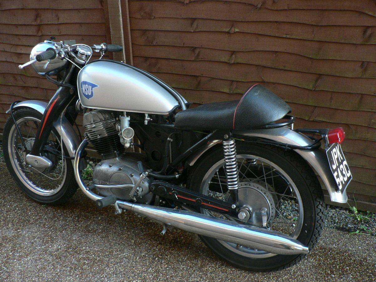 1955 NSU Max Special. Built to race. Tax.MoT exemp For Sale (picture 3 of 6)