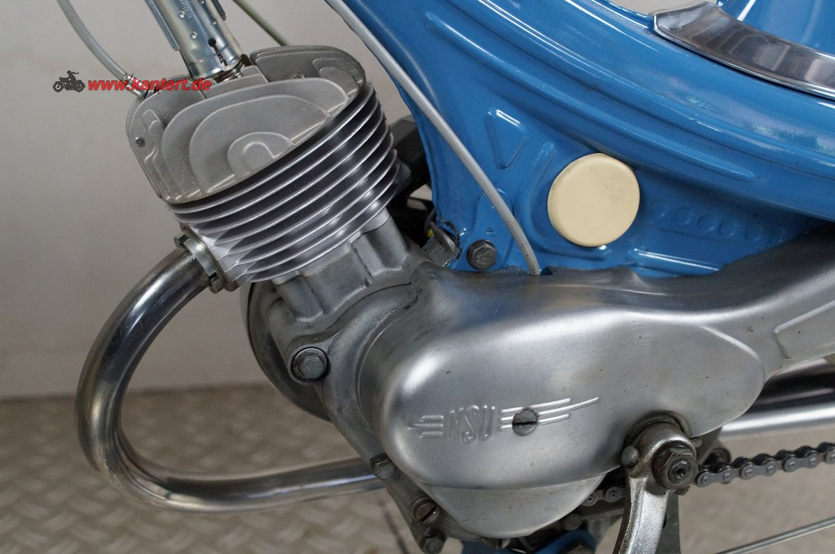 1966 NSU Quickly S 23, 49 cc, 2 hp For Sale (picture 9 of 12)