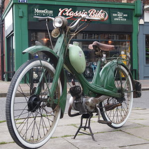 Picture of 1957 NSU Quickly 49 CC Unmolested Running Bike. SOLD TO ALLAN. SOLD