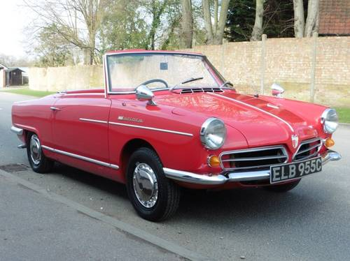 1965 NSU Wankel Spider £76000 Restoration RHD H&S Tops Exceptiona For Sale (picture 1 of 6)