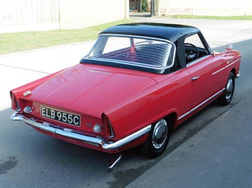 1965 NSU Wankel Spider £76000 Restoration RHD H&S Tops Exceptiona For Sale (picture 2 of 6)