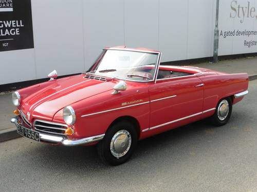 1965 NSU Wankel Spider £76000 Restoration RHD H&S Tops Exceptiona For Sale (picture 4 of 6)