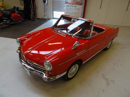 1965 NSU Wankel Spider  SOLD (picture 2 of 6)