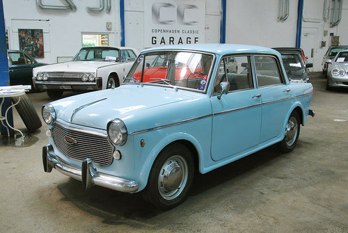 1962 NSU Neckar Europa Spezial LHD For Sale (picture 1 of 6)