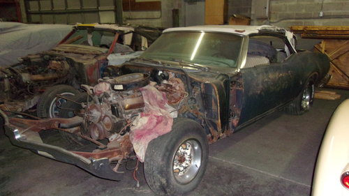 1969 Oldsmobile Cutlass S Convertible $3000 USD For Sale (picture 1 of 6)