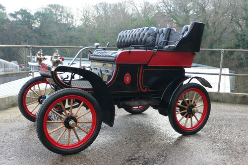1904 Oldsmobile 7 hp Model 6-C Curved Dash Runabout For Sale (picture 2 of 6)