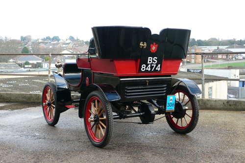 1904 Oldsmobile 7 hp Model 6-C Curved Dash Runabout For Sale (picture 3 of 6)