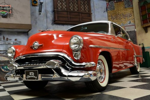 1953 Oldsmobile Super 88 Super Holiday Hardtop Coupe For Sale (picture 1 of 6)