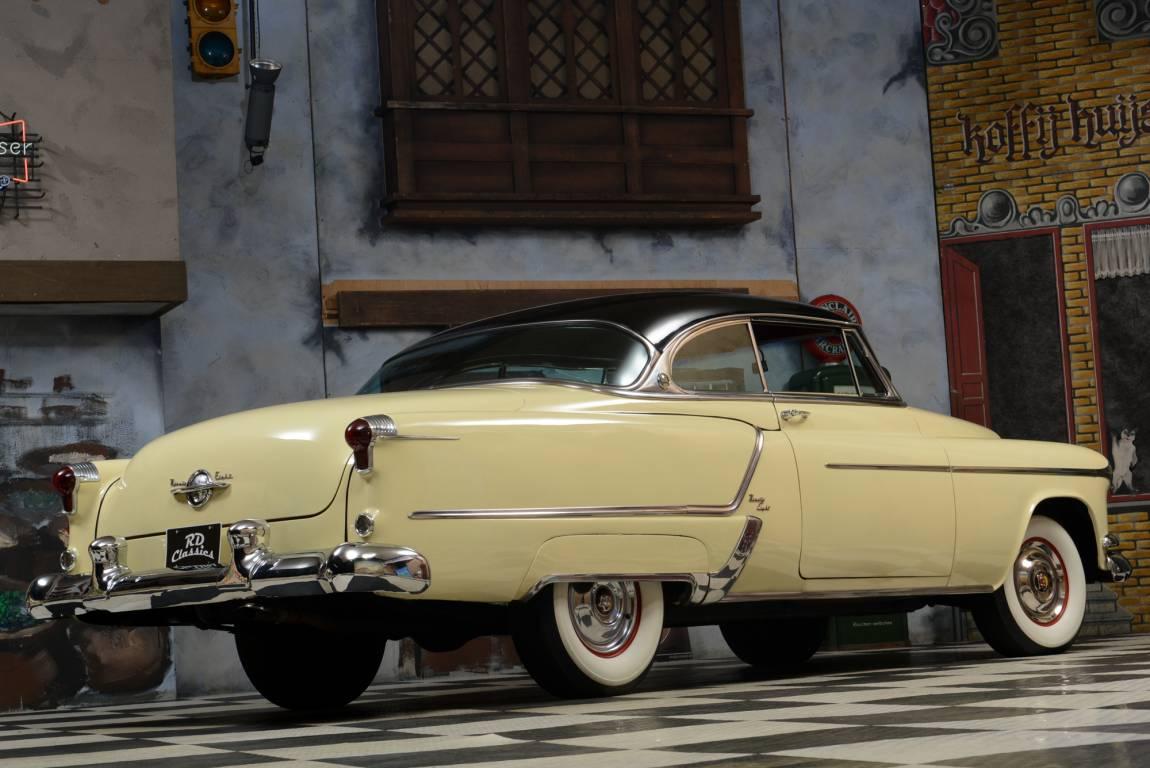 1953 Oldsmobile 98 Holiday Coupe, 303 CID Rocket V8 Engine For Sale (picture 1 of 6)