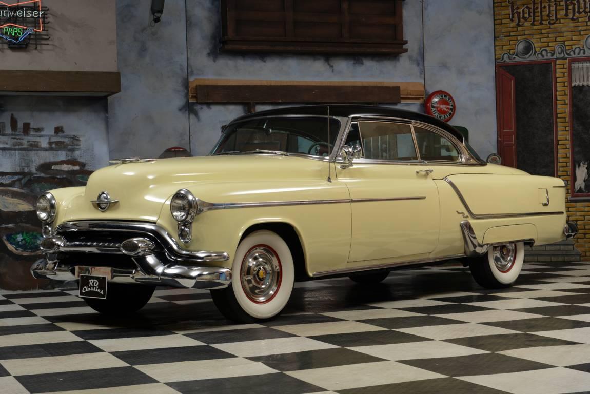 1953 Oldsmobile 98 Holiday Coupe, 303 CID Rocket V8 Engine For Sale (picture 2 of 6)