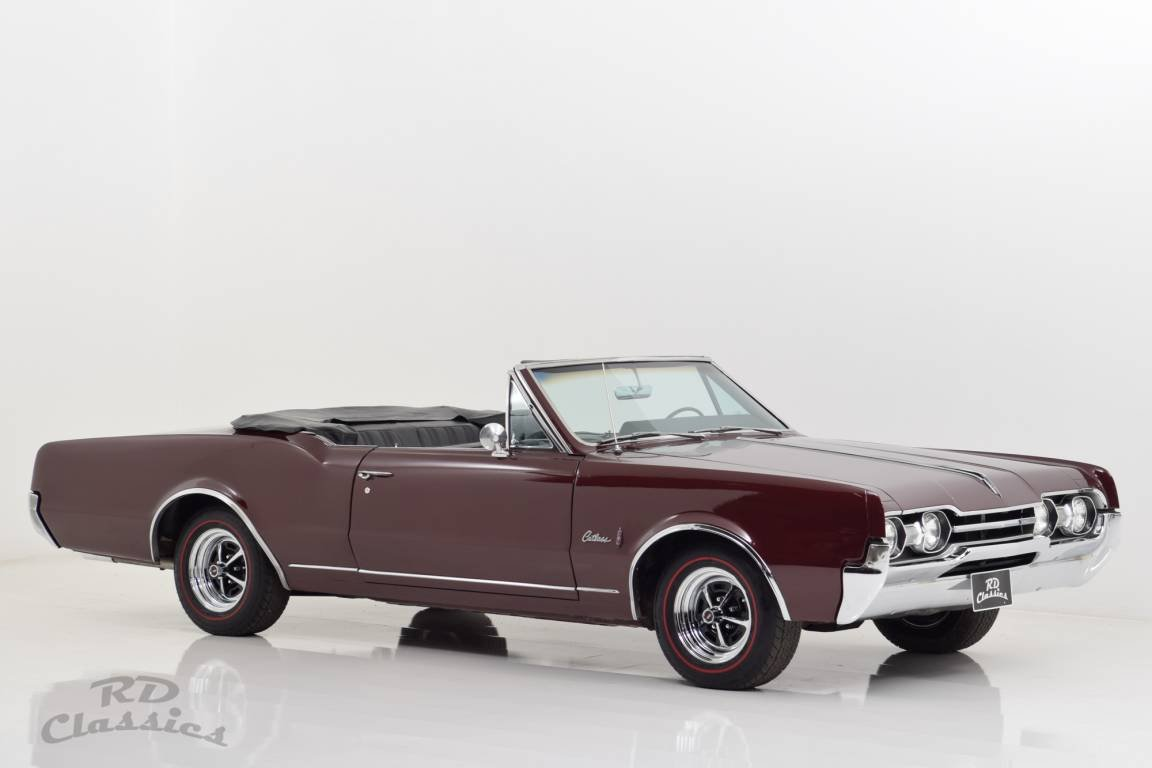 1967 Oldsmobile Cutlass Convertible For Sale (picture 1 of 6)