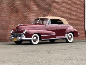 1948 Oldsmobile Series 68 Convertible = Rare 1 of 2,091 made