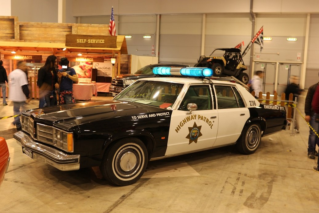 1978 american police car oldsmobile For Sale (picture 1 of 6)
