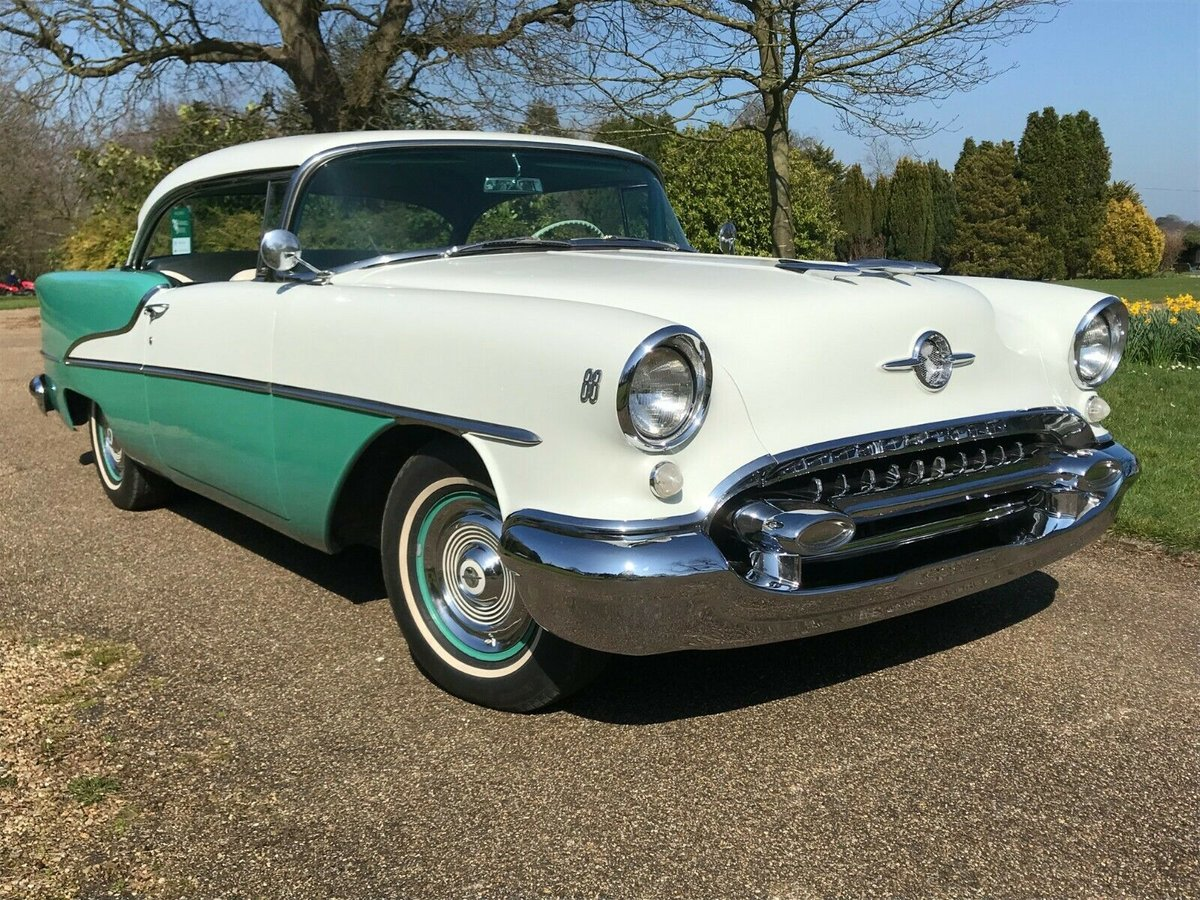 1955 Oldsmobile 88 Rocket Holiday Deluxe 2Dr For Sale (picture 1 of 6)