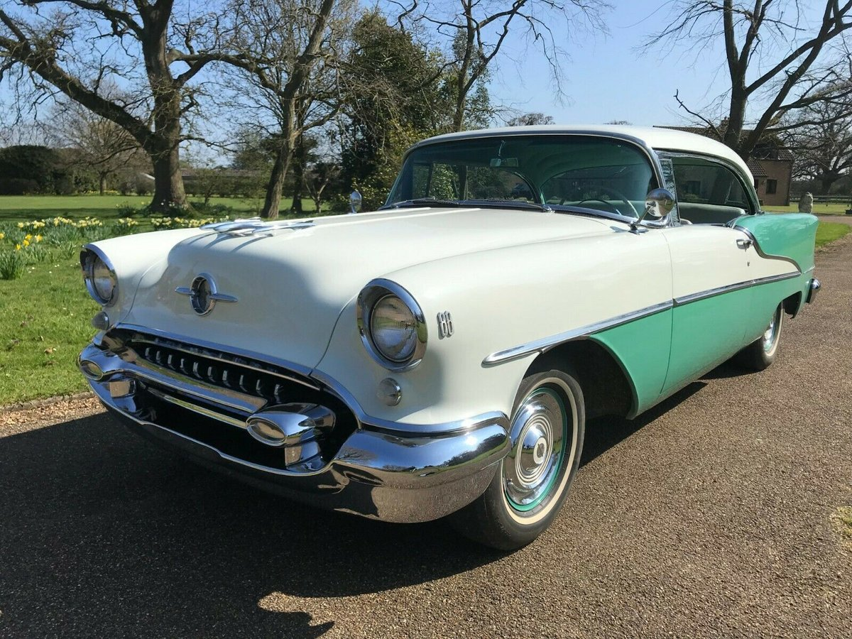 1955 Oldsmobile 88 Rocket Holiday Deluxe 2Dr For Sale (picture 5 of 6)