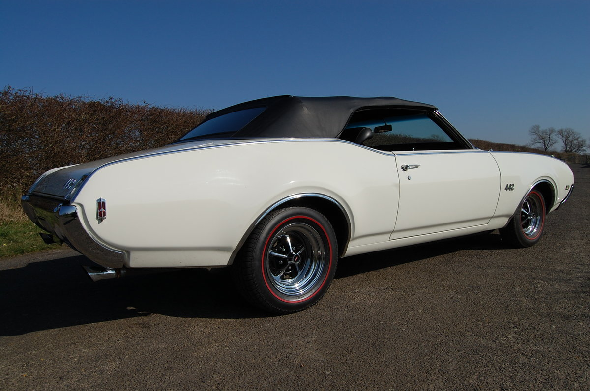 1969 oldsmobile 442 convertable For Sale (picture 4 of 6)