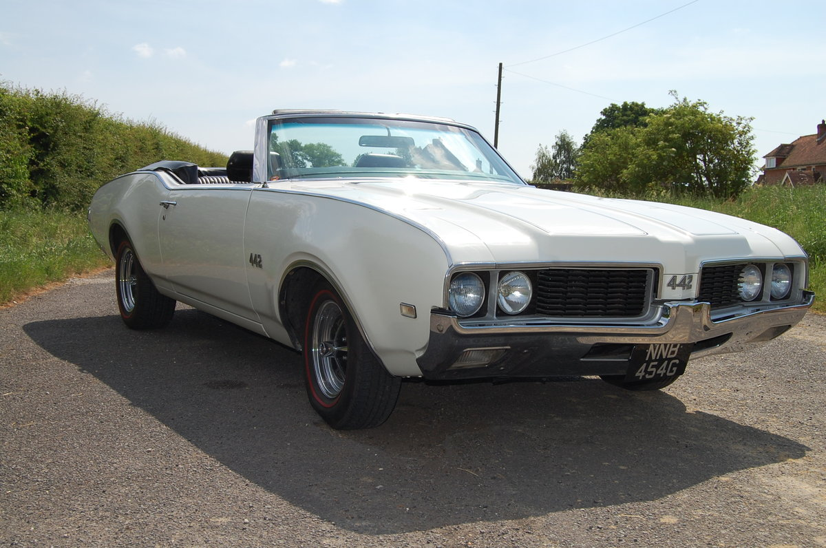 1969 oldsmobile 442 convertable For Sale (picture 5 of 6)