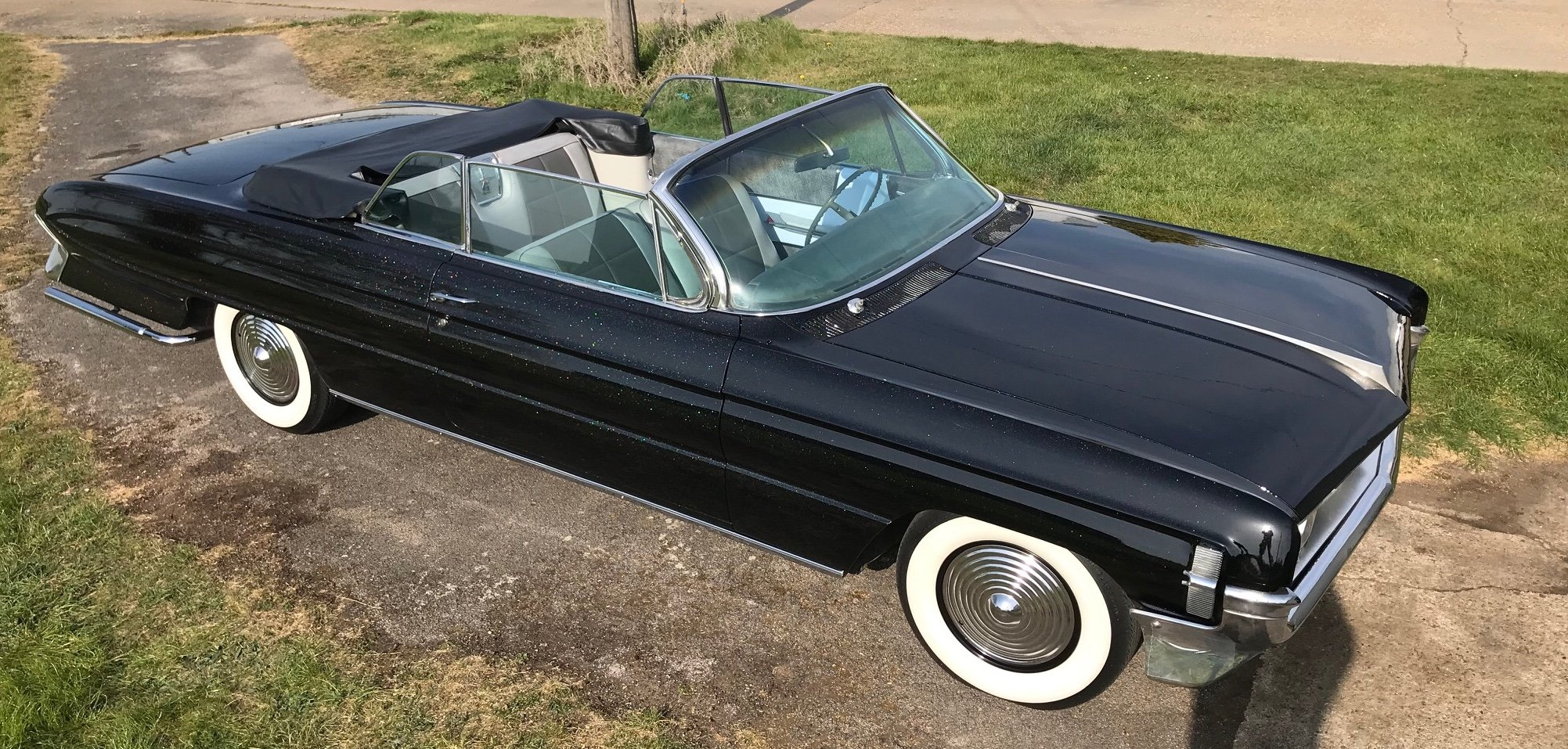 1961 Rare Oldsmobile Starfire 98 Convertible For Sale (picture 4 of 6)