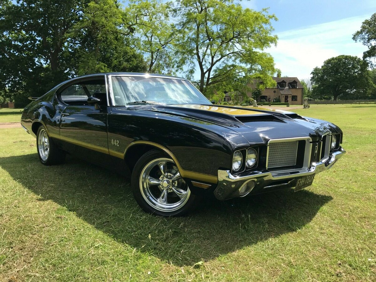 1972 oldsmobile cutlass s 442 tribute 2dr hardtop  For Sale (picture 1 of 6)