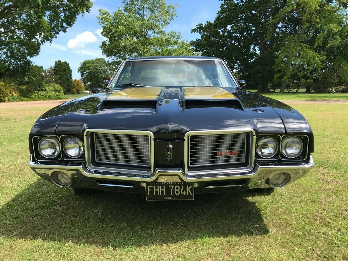1972 oldsmobile cutlass s 442 tribute 2dr hardtop  For Sale (picture 5 of 6)