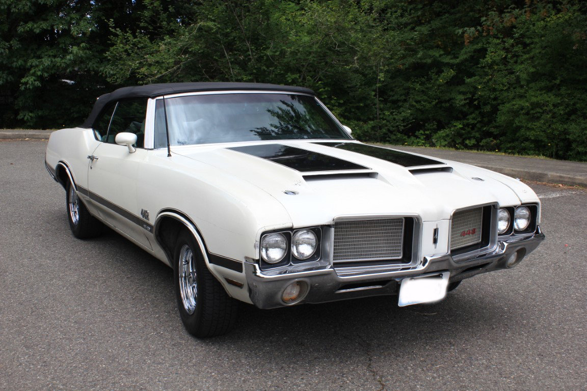 1972 Oldsmobile 442 Convertible - Lot 624 For Sale by Auction (picture 1 of 6)