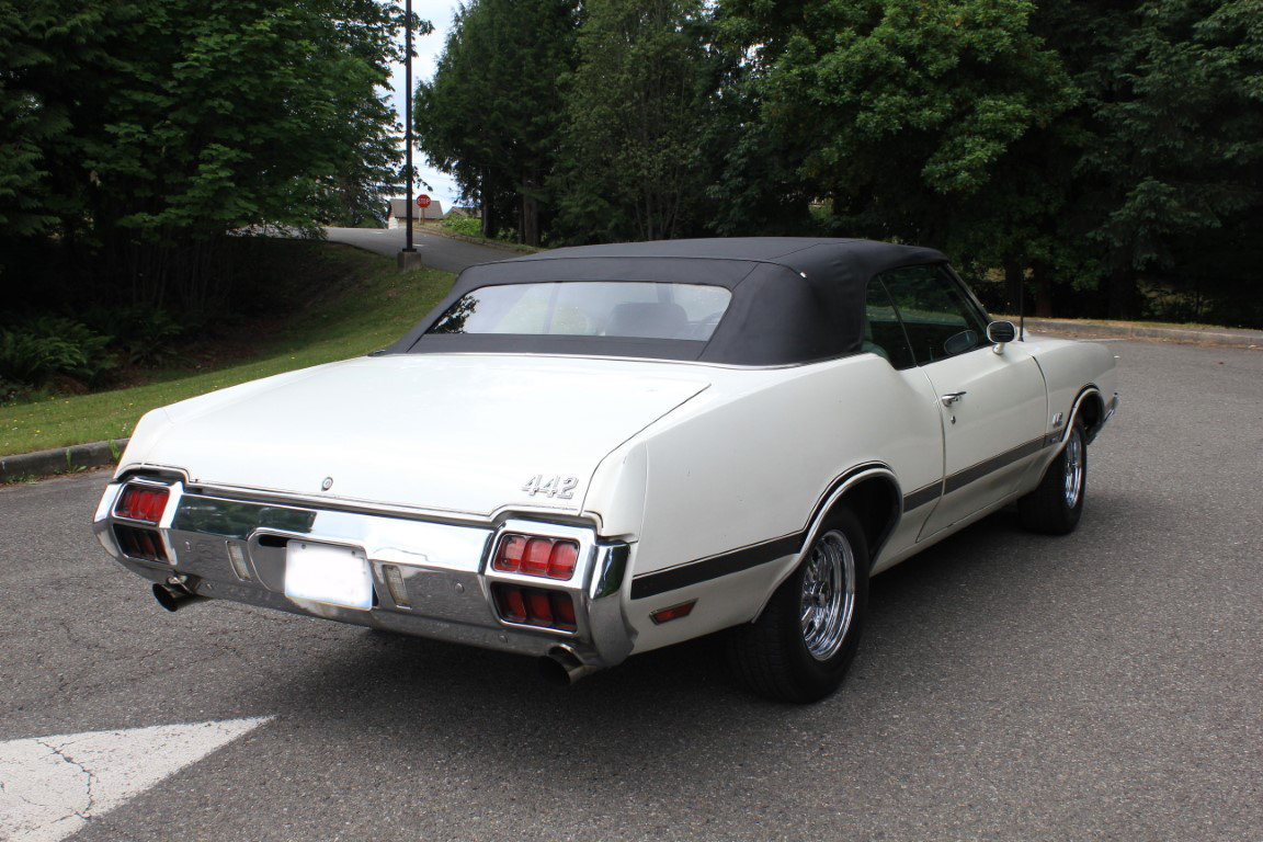 1972 Oldsmobile 442 Convertible - Lot 624 For Sale by Auction (picture 2 of 6)