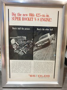 1964 Oldsmobile Advert Original