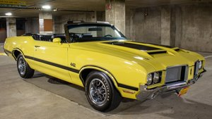 1972 72 Oldsmobile Cutlass 442 Convertible only 1.6k miles $69.9k For Sale