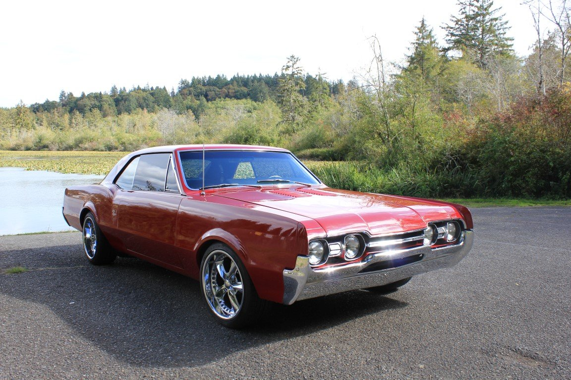 1967 Oldsmobile Cutlass Supreme - Lot 918 For Sale by