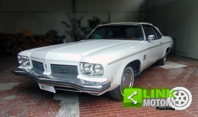 OLDSMOBILE DELTA 88 ROYALE CONVERTIBLE, ANNO 1973, iscritta For Sale (picture 1 of 6)
