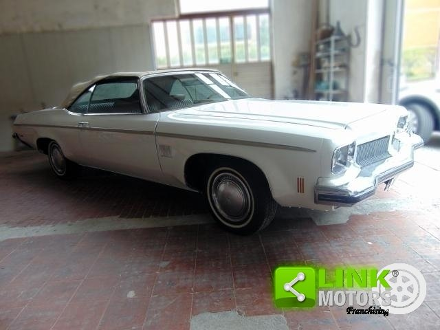 OLDSMOBILE DELTA 88 ROYALE CONVERTIBLE, ANNO 1973, iscritta For Sale (picture 2 of 6)