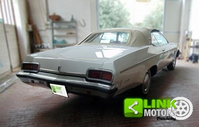 OLDSMOBILE DELTA 88 ROYALE CONVERTIBLE, ANNO 1973, iscritta For Sale (picture 3 of 6)