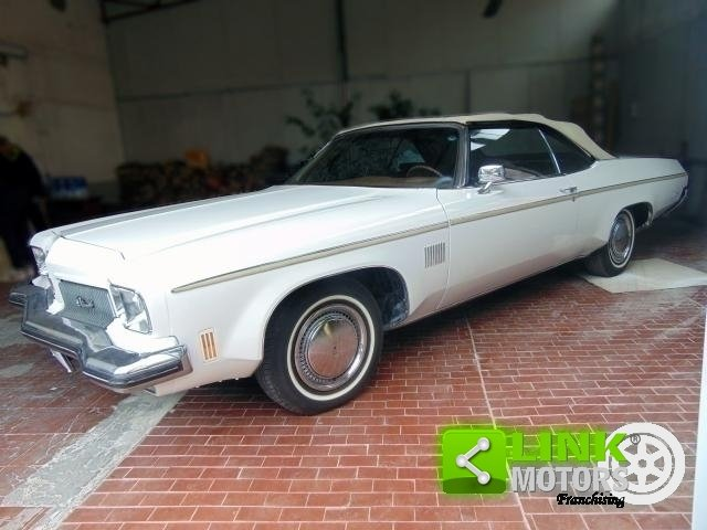 OLDSMOBILE DELTA 88 ROYALE CONVERTIBLE, ANNO 1973, iscritta For Sale (picture 6 of 6)