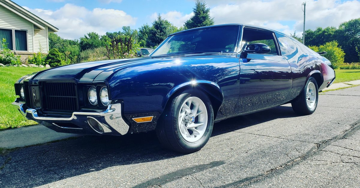 1971 Oldsmobile Cutlass S Holiday Coupe Custom For Sale (picture 1 of 6)