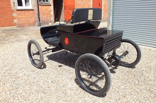 1902 A very good original VCC dated London to Brighton Run car For Sale (picture 3 of 6)