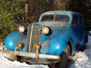 1936 Oldsmobile 4dr Sedan