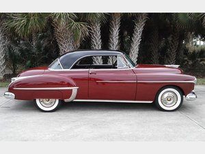 1950 Oldsmobile 88 Holiday Coupe  For Sale by Auction