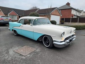 1955 OLDSMOBILE HOLIDAY 88 PILLARLESS COUPE V8 P/X TAKEN