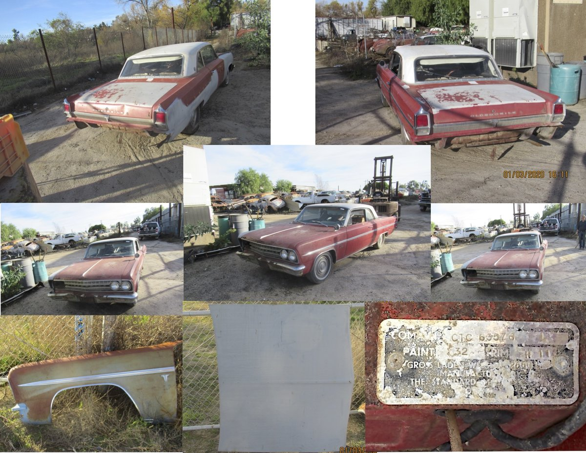 1963 OLDSMOBILE F-85 CUTLASS  For Sale (picture 3 of 3)
