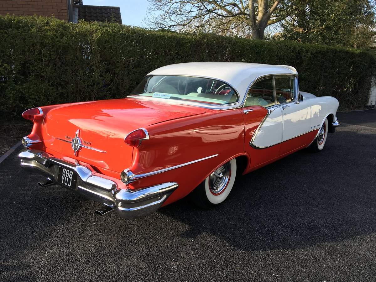 1956 Stunning condition Oldsmobile,s flag ship 98 model For Sale (picture 1 of 6)