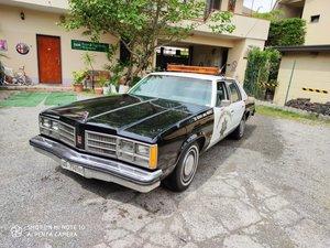 california police car