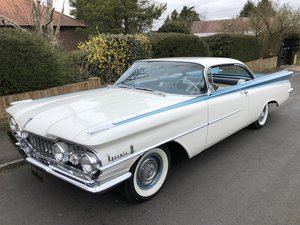 1959 OLDSMOBILE DYNAMIC 88 TWO DOOR PILLARLESS COUPE 371 V8