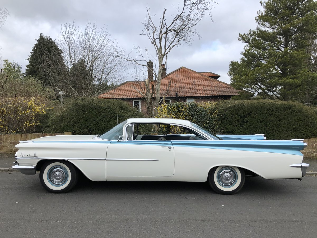 1959 OLDSMOBILE DYNAMIC 88 TWO DOOR PILLARLESS COUPE 371 V8 For Sale (picture 2 of 6)