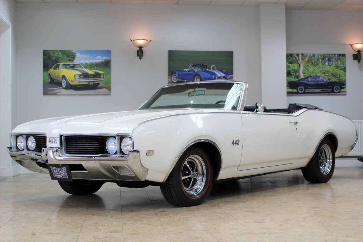 1969 Oldsmobile 442 V8 Convertible Auto | Restored For Sale (picture 1 of 25)