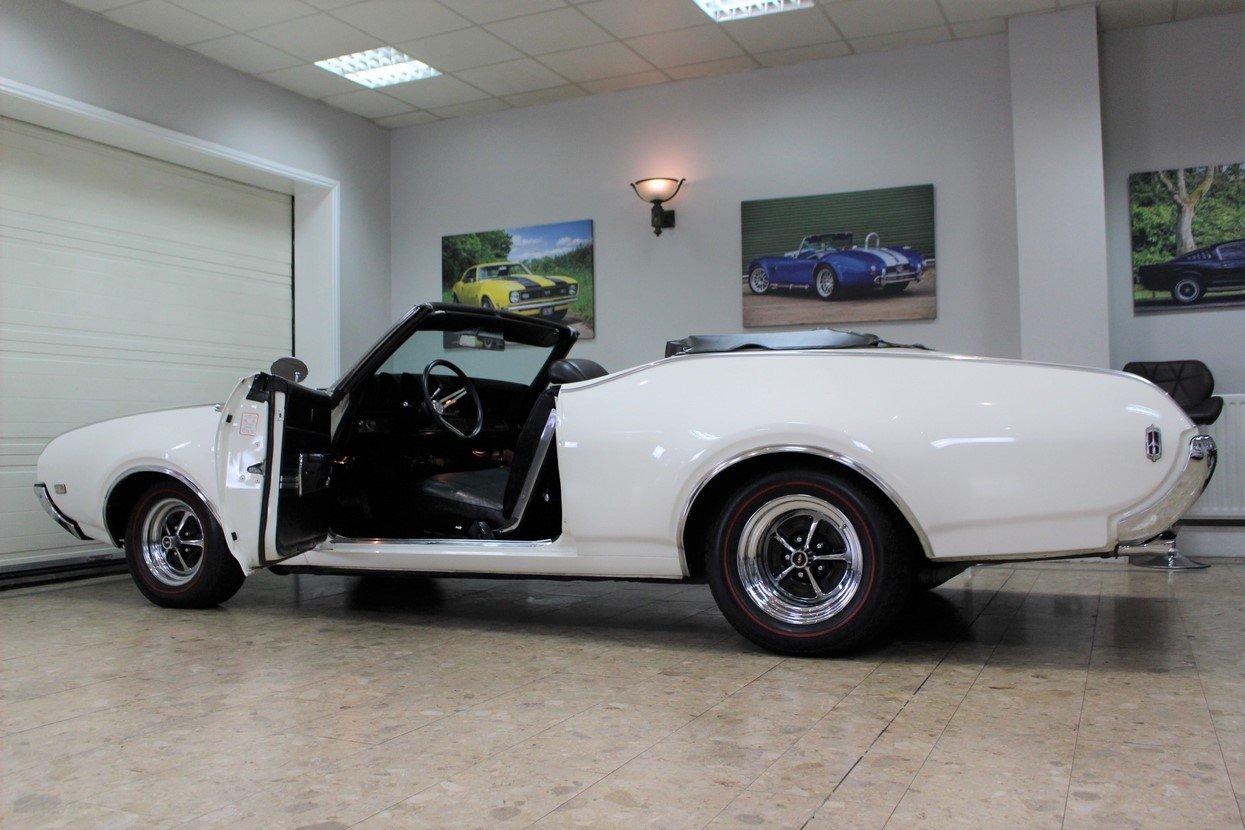 1969 Oldsmobile 442 V8 Convertible Auto | Restored For Sale (picture 3 of 25)