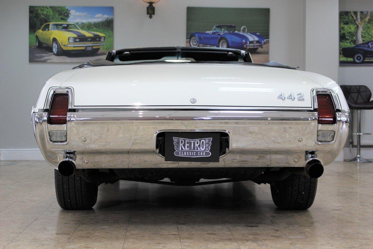 1969 Oldsmobile 442 V8 Convertible Auto | Restored For Sale (picture 23 of 25)